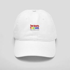 Two Hearts True Love Cap