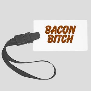 Bacon Bitch Luggage Tag