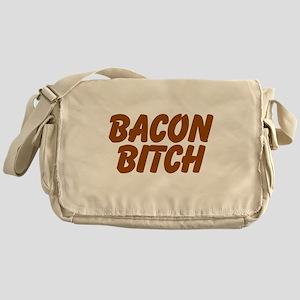 Bacon Bitch Messenger Bag