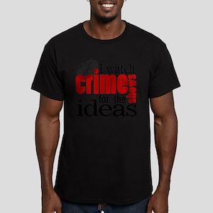 Crime Show Ideas Men's Fitted T-Shirt (dark)