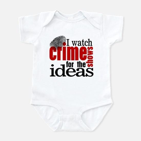 Crime Show Ideas Infant Bodysuit