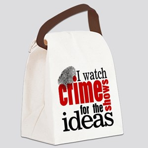 Crime Show Ideas Canvas Lunch Bag