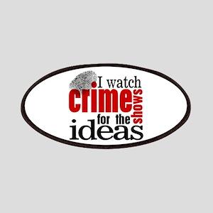 Crime Show Ideas Patches