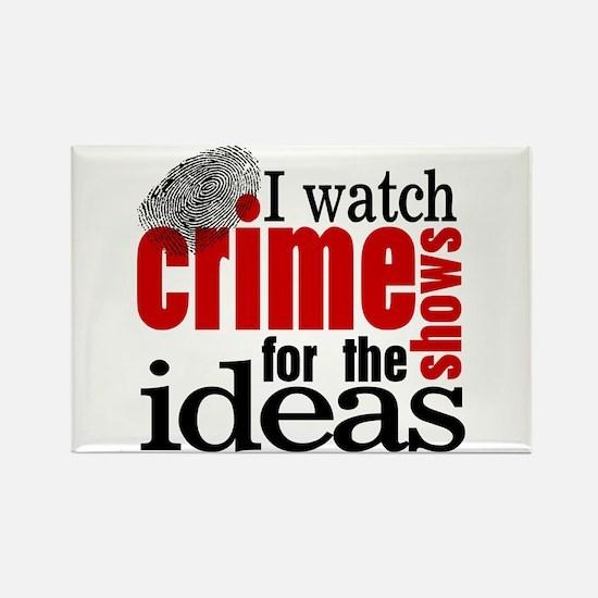 Crime Show Ideas Rectangle Magnet