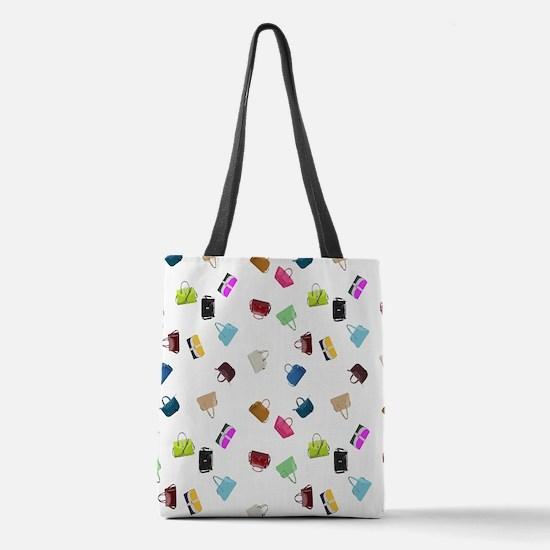 Colorful Handbags Polyester Tote Bag