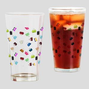 Colorful Handbags Drinking Glass
