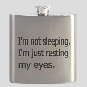 Im not sleeping,Im just resting my eyes Flask