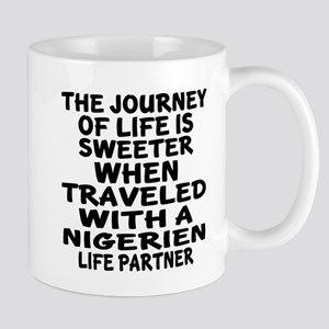 Traveled With Nigerien Life Part 11 oz Ceramic Mug