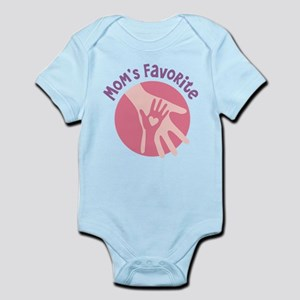 Mother And Child Hands Body Suit