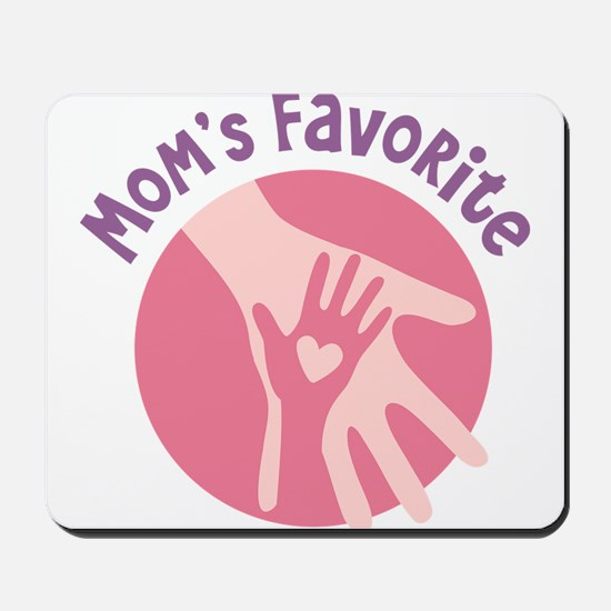 Mother And Child Hands Mousepad