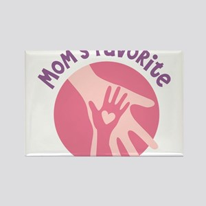 Mother And Child Hands Rectangle Magnet