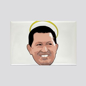 Chavez Saint - Stroke Rectangle Magnet
