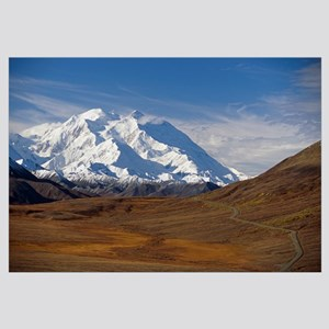 Mt McKinley and Alaska Range, Denali National Park