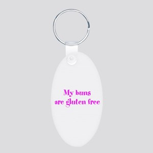 my buns are gluten free Keychains