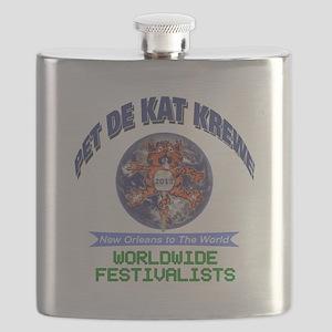 Pet De Kat 2013 Flask