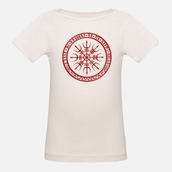 Aegishjalmur: Viking Protection Rune T-Shirt