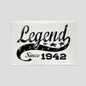 Legend Since 1942 Rectangle Magnet