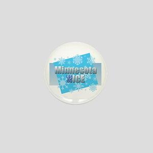 Minnesota Nice - Ice Mini Button