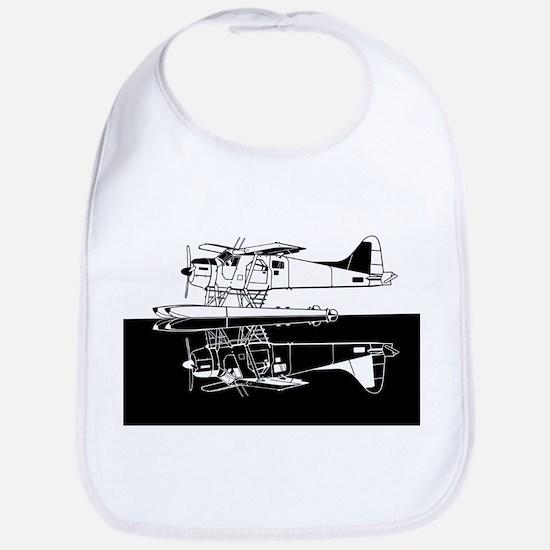 Indiscrete Seaplane Negative Combo Mirror Bib