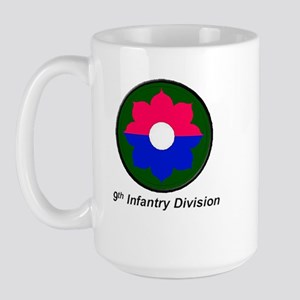 9th Infantry Division Large Mug