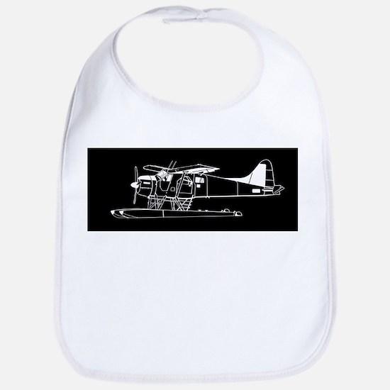 Indiscrete Propeller Seaplane Negative Plain Bib