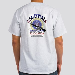 DEALEY PLAZA MARKSMENS' ASSOC. -  Ash Grey T-Shirt