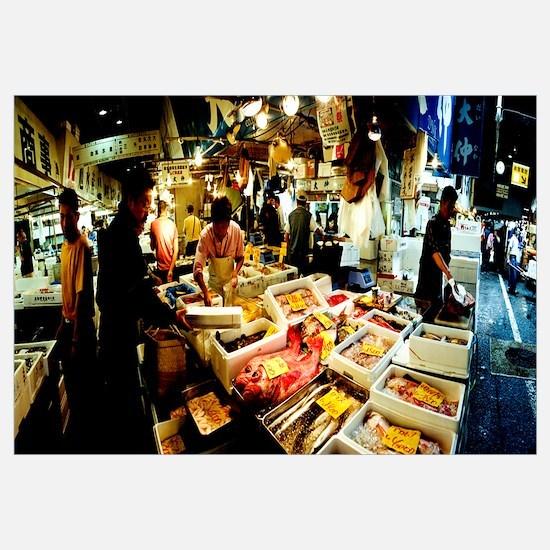 Tsukiji Fish Market, Tsukiji, Tokyo Prefecture, Ka