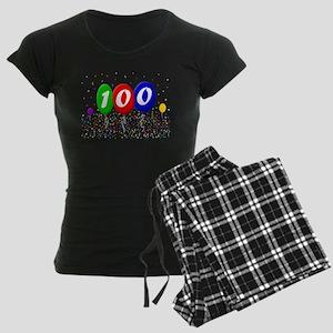 100th Birthday Women's Dark Pajamas
