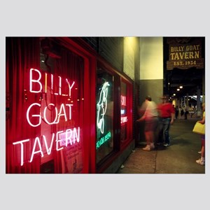Bar, Billy Goat Tavern, Chicago, Cook County, Illi