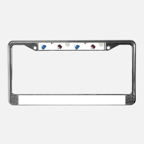 Colorful Little Handbags License Plate Frame