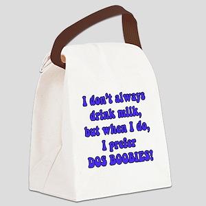 DosBoobies Canvas Lunch Bag