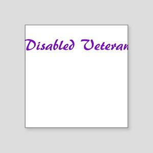 More options for veterans! Sticker