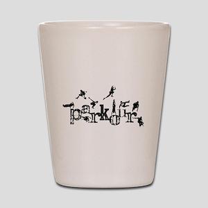 Parkour Shot Glass