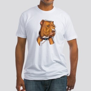 Pit Bull Beauty Fitted T-Shirt