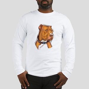 Pit Bull Beauty Long Sleeve T-Shirt