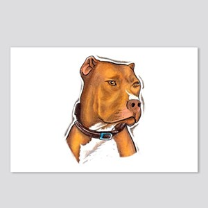 Pit Bull Beauty Postcards (Package of 8)