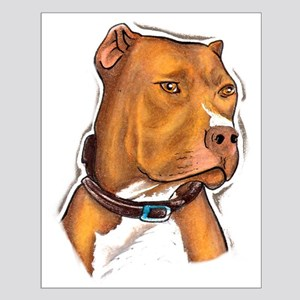 Pit Bull Beauty Small Poster