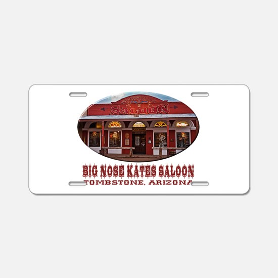 Big Nose Kates Saloon Aluminum License Plate