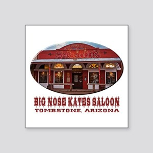 Big Nose Kates Saloon Sticker