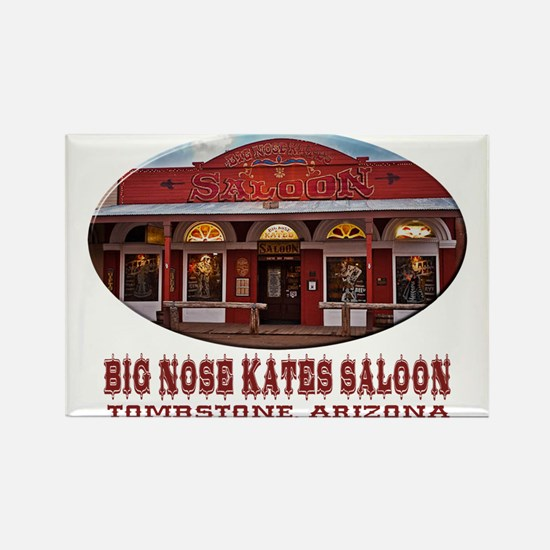 Big Nose Kates Saloon Rectangle Magnet