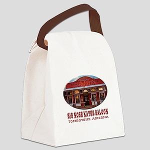 Big Nose Kates Saloon Canvas Lunch Bag
