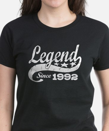 Legend Since 1992 Women's Dark T-Shirt