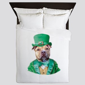 Irish pitbull dog Queen Duvet