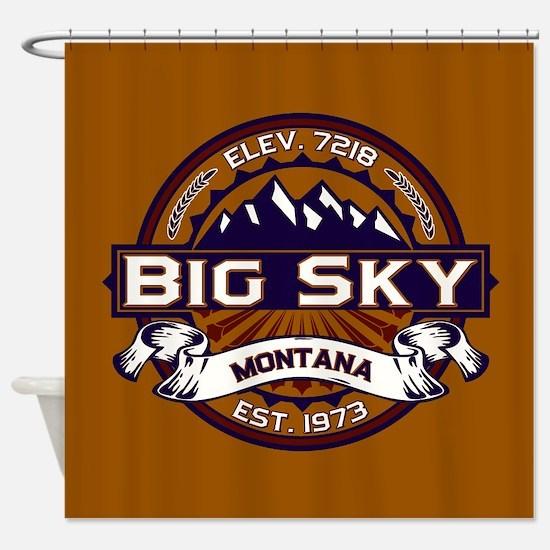 Big Sky Vibrant Shower Curtain