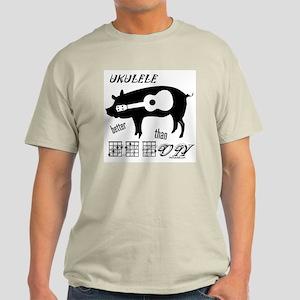 Ukulele Better Than Bacon T-Shirt