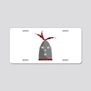 Eleggua Head Aluminum License Plate