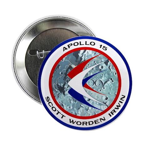 """Apollo 15 2.25"""" Button"""