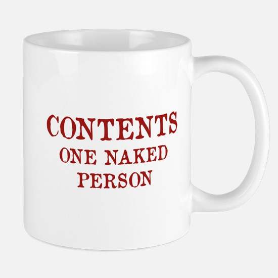 Contents One Naked Person Mug