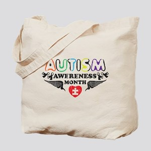 Autism awereness month Tote Bag