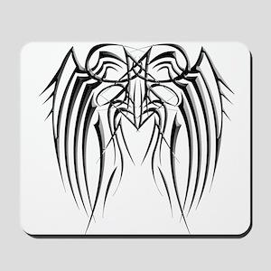 Black Iron Wings Mousepad